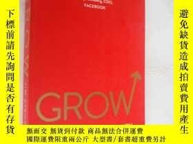 二手書博民逛書店作者簽名本罕見GROW:How ideals power gro