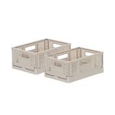 (組)BQ530-1 箱根300型摺疊籃(淡棕)
