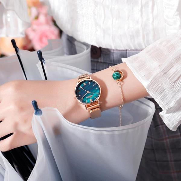 女士手表時尚簡約氣質 學生ins風韓版防水2020年新款細帶小巧女表 怦然新品