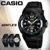 CASIO手錶專賣店 卡西歐 MW-600F-1A 男錶 指針 防水100米 指針與刻度夜光顯示 橡膠錶帶