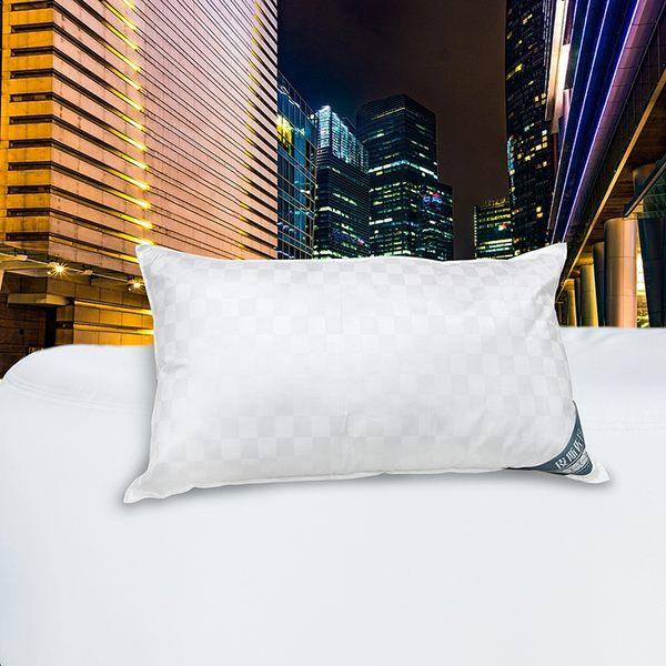 【皮斯佐丹】飯店專用緹花羽絨枕
