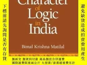 二手書博民逛書店The罕見Character Of Logic In India (suny Series In Indian T