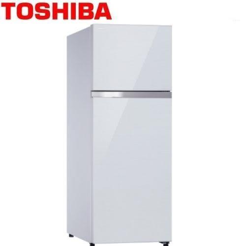 TOSHIBA東芝409L雙門變頻冰箱(鏡面貝殼白)(1級節能)GR-AG461TDZ(ZW)免運送+標準安裝