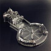 3D金屬拼圖圣彼得大教堂成人玩具益智手工拼裝模型禮物