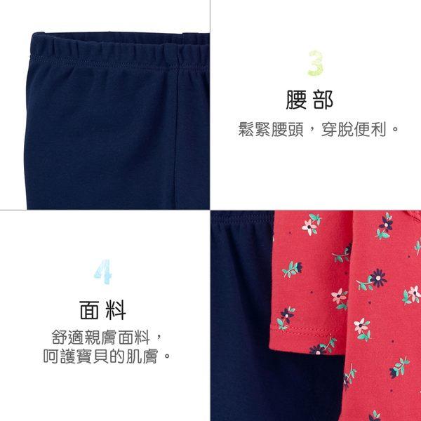 【美國 carter s】 荷葉碎花印圖2件組套裝-台灣總代理