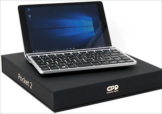 GPD Pocket 2 現貨 M3-8100Y 高配版 最新2代 8+128GB WIN10 繁中 7吋 小筆電