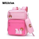 書包小學生女生兒童1-3-4-6年級女童女孩雙肩背包6-12周歲公主包
