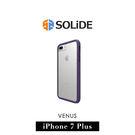 【G2 STORE】Solide Case Venus iPhone 7  Plus 5.5吋 標準版 防摔 保護殻 邊框 - 魔幻紫