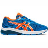 Asics GT-1000 8 GS [1014A068-400] 大童鞋 運動 慢跑 休閒 緩衝 透氣 亞瑟士 藍橘