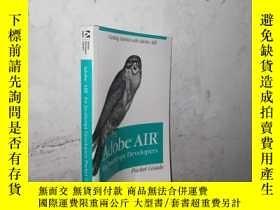 二手書博民逛書店Adobe罕見AIRfor JavaScript Develop