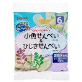 【愛吾兒】貝親 pigeon 小魚仙貝&洋栖菜仙貝-2枚×4袋 6M+ 日本製