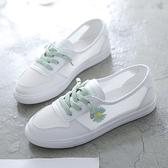 小白鞋 小白鞋女鞋子2021新款夏秋季百搭運動網面透氣運動板鞋潮鞋懶人鞋 薇薇