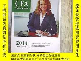 二手書博民逛書店SCHWESER罕見CFA EXAM PREP 2014(boo