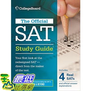 [105美國直購] 2016美國暢銷書 Official SAT Study Guide (2016 Edition) (Official Study Guide for the New Sat)