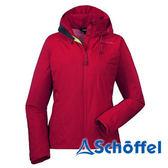 德國 SCHOFFEL 女 防水透氣 多功能連帽外套 紅 2011072