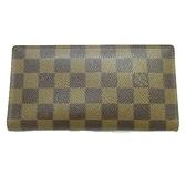 LV 棋盤格長夾 BRAZZA N60017 【二手名牌 BRAND OFF】