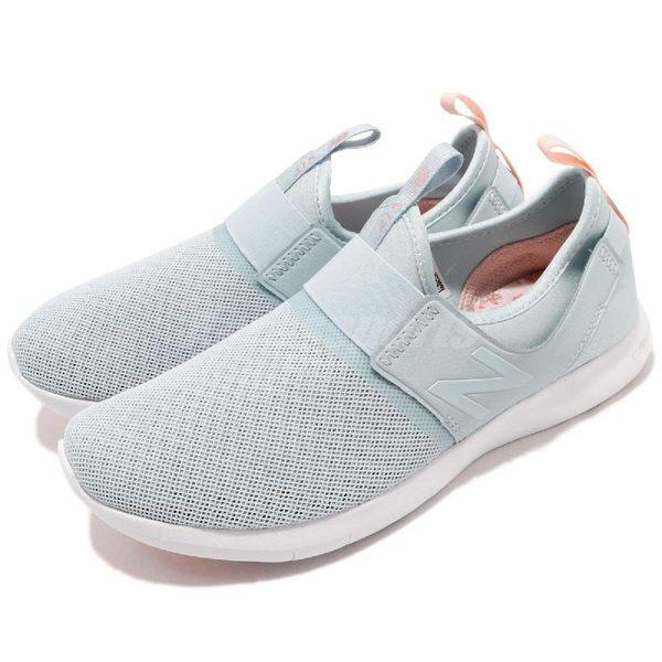 New Balance 慢跑鞋 415 NB 綠 粉紅 繃帶設計 無鞋帶 基本款 運動鞋 女鞋【PUMP306】 WL415SLD