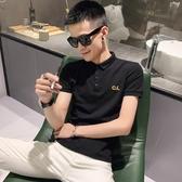 2020夏裝新款polo衫男韓版潮流修身社會精神小夥翻領短袖t恤非凡小鋪