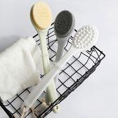 搓澡神器長柄軟毛洗澡刷雙面硅膠防滑搓背刷成人後背搓澡刷沐浴刷 歐韓時代