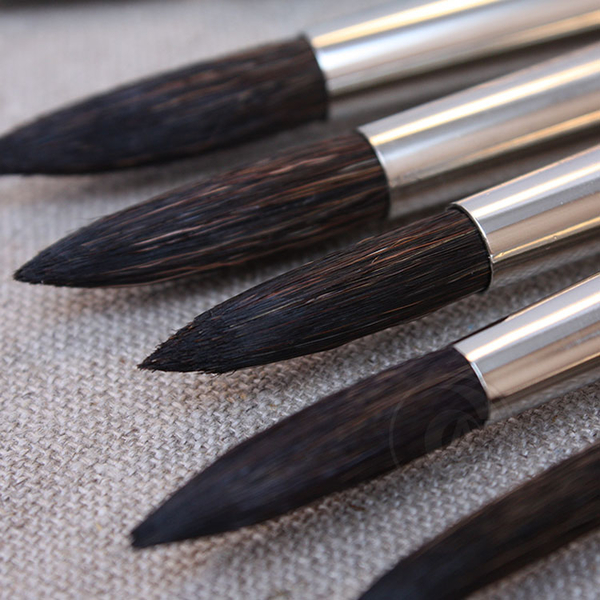 『ART小舖』Da vinci 德國達芬奇 學生級 315 紅桿動物混和毛水彩畫筆 3號 單支