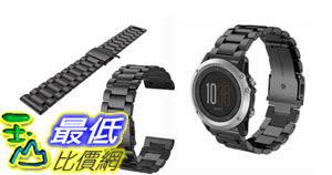 [106玉山最低比價網] 適用於 Garmin Fenix3錶帶錶帶 fenix3 HR不鏽鋼錶帶