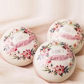 喜糖盒子2018新款歐式馬口鐵盒結婚包裝婚禮盒火烈鳥創意抖音糖盒【米拉公主】