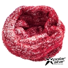 【Polarstar】造型保暖圍巾『紅橘』P18624 休閒│戶外│保暖│圍脖│圍巾 │頭巾│冬帽│毛帽