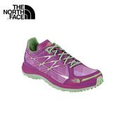 【The North Face 女越野跑鞋 拜占庭紫/天堂綠】 CKM4/慢跑鞋/登山鞋/攀岩鞋/越野鞋/健行鞋