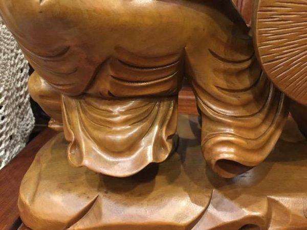 8號店鋪 森寶藝品傢俱 檜木彌勒佛-3