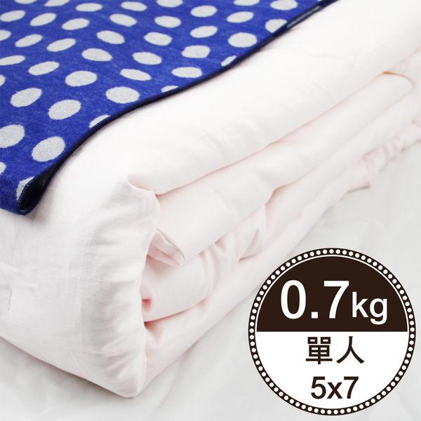 【岱妮蠶絲】BY07991天然特級100%長纖桑蠶絲被-0.7kg