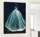 十字繡 5d鑽石畫滿鑽石繡婚紗客廳臥室點鑽十字繡結婚慶簡約現代xw【幸福家居】