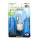 Double Sun A-G45-2W 2W小球LED燈絲 壁燈 水晶燈 燈泡白光 1入