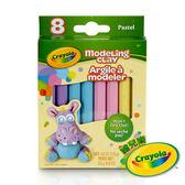 美國Crayola繪兒樂 造型黏土粉彩色4色