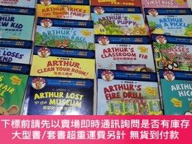 二手書博民逛書店罕見雙語閱讀;亞瑟小子系列(18本合售)Y433896 馬克 布朗 著 新疆青少年出