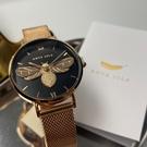 星晴錶業-ANTE ISLA法式風情女錶,編號AI00001,32mm玫瑰金錶殼,玫瑰金色錶帶款
