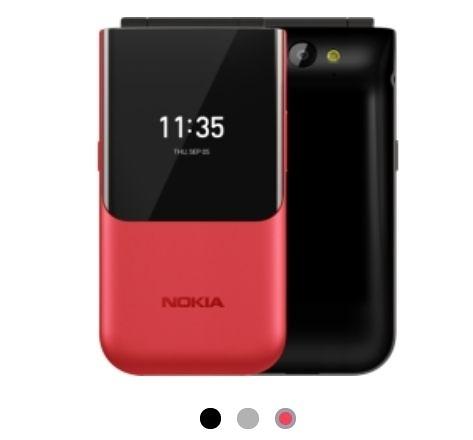 NOKIA 2720 Flip 4G折疊式手機 雙螢幕摺疊機 拆封品-聯強保固