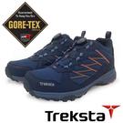 【Treksta 韓國】BOLT BOA 女GTX防水健行鞋『深藍/粉紅』KR21GW 多功能鞋.登山鞋.Gore-Tex