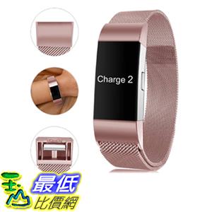[9美國直購] Find-MyWay 錶帶 Compatible with Fitbit Charge 2 Band,Charge 2 Accessories Stainless Steel Bracelet Women Men