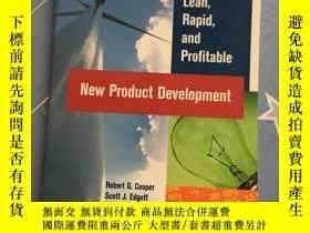 二手書博民逛書店16開英文原版罕見Lean, Rapid, and Profitable New Product Developm