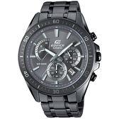 【人文行旅】EDIFICE   EFR-552GY-8AVUDF 冷艷科技灰賽車腕錶 CASIO