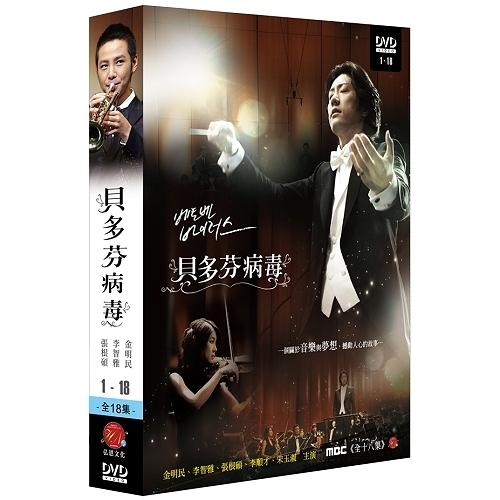 貝多芬病毒 DVD 雙語版 ( 金明民/李智雅/張根碩(張根錫)/李順才 )