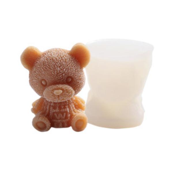 製冰盒 小熊冰塊 冰格 [小款] 冰塊模具 造型冰塊 食用級矽膠 泰迪熊 飲料 夏日 可愛