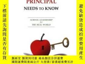 二手書博民逛書店What罕見Every Superintendent And Principal Needs To Know-每個