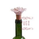 造型酒瓶塞-玫瑰花 聖誕交換禮物首選