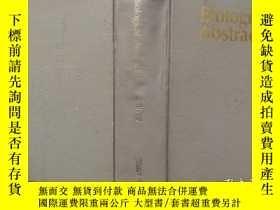 二手書博民逛書店Biological罕見abstracts 1989 volume87 Number 1 精裝外文Y30206