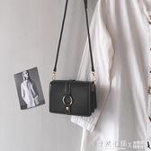 法國小眾包包女2021新款潮高級感小方包百搭單肩斜挎包ins女包小 怦然新品