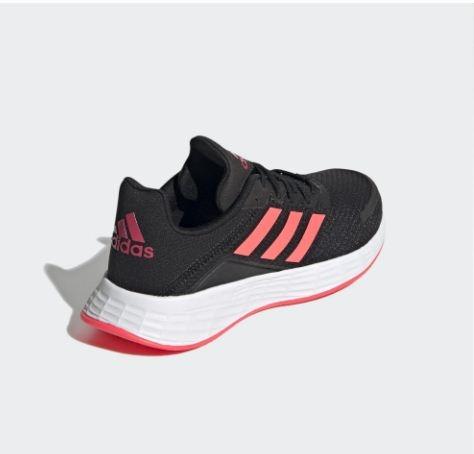 Adidas-DURAMO SL 男童/女童黑粉運動鞋-NO.FX7301