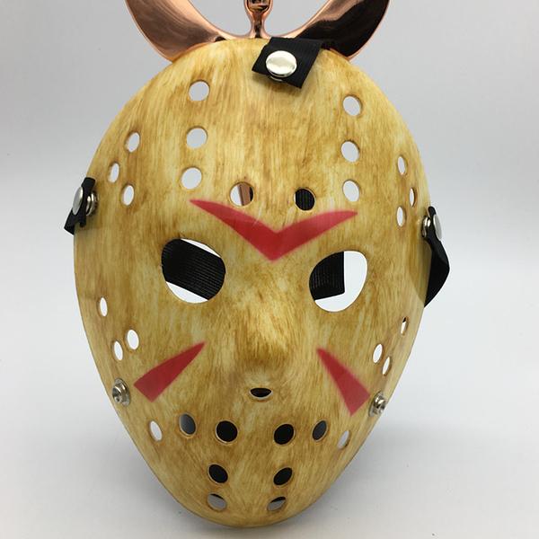 電影主題面具杰森面具弗萊迪大戰杰森主題面具萬圣節恐怖嚇人面具