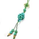 綠松石繡球吊飾
