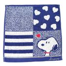 SNOOPY 史努比 純棉 方巾 毛巾 手帕 日本正版